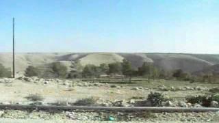 ヨルダン/ディバーンからマダバへの帰り道