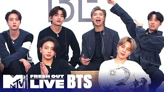 BTS Reveals the Meaning Of 'BE' & Their Favorite Song | #MTVFreshOut