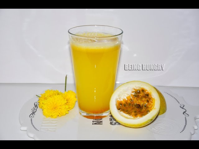 PASSION FRUIT JUICE BY BEING HUNGRY SRI LANKA
