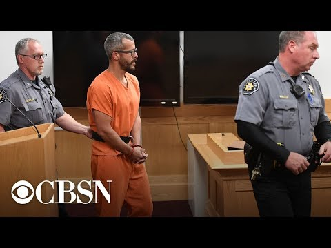 Chris Watts sentenced