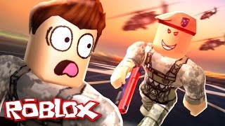 Roblox Adventures / Army Training Obby / Escaping the Evil Military Base!