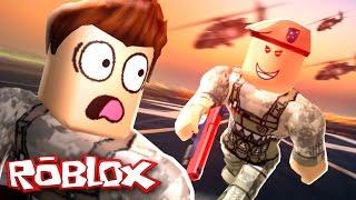 Roblox Adventures / Army Training Obby / Flucht auf der bösen Militärbasis!