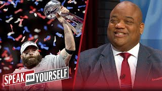 Jason Whitlock: Julian Edelman is a legitimate Hall of Fame candidate | NFL | SPEAK FOR YOURSELF