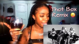 Thot Box (Remix) (feat. Young MA, Dreezy, DreamDoll, Mulatto, Chinese Kitty) (REACTION)