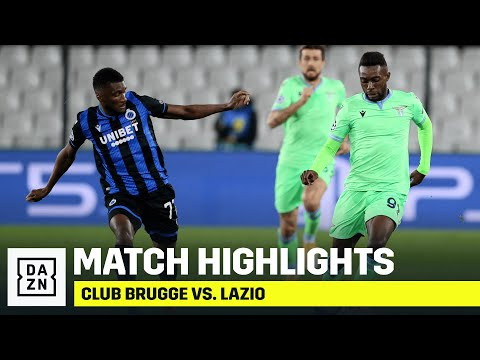 Club Brugge Lazio Goals And Highlights