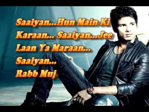 Saaiyan Hun Main Ki Karaan ~ With Lyric's ~ Gunday 2014 ~