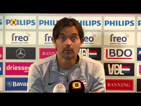 PSV-trainer Phillip Cocu spreekt pers voor het eerst na ziekte: '25 juni sta ik weer voor de groep'