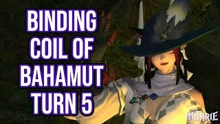 Ffxiv 2.1 0185 Binding Coil Of Bahamut Turn 5 Attempts