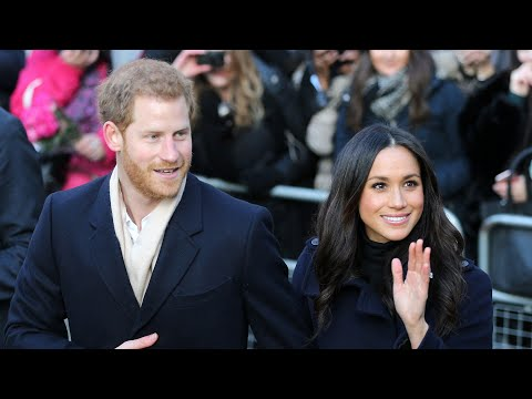 Harry and Meghan make first official joint royal appearance in Nottingham