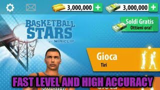 APK MOD BASKETBALL STARS V1.9.0 (MOD FAST LEVEL AND HIGH ACCURACY)