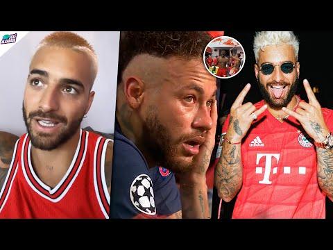 Neymar LLORA, Maluma feliz: Burlas a Neymar y Maluma estaba presente. Bayern celebra con HAWAI.