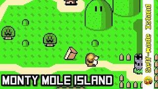 Monty Mole Island • Super Mario World ROM Hack (SNES/Super Nintendo)