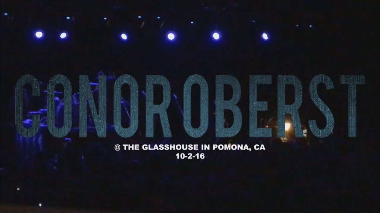 Conor Oberst The Glasshouse in Pomona CA 10216 FULL SET