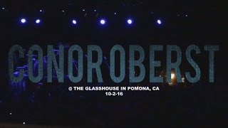 conor oberst the glasshouse in pomona ca 10 2 16 full set