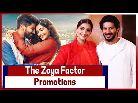 Sonam Kapoor, Dulquer Salmaan To Promot 'The Zoya Factor' In Mumbai