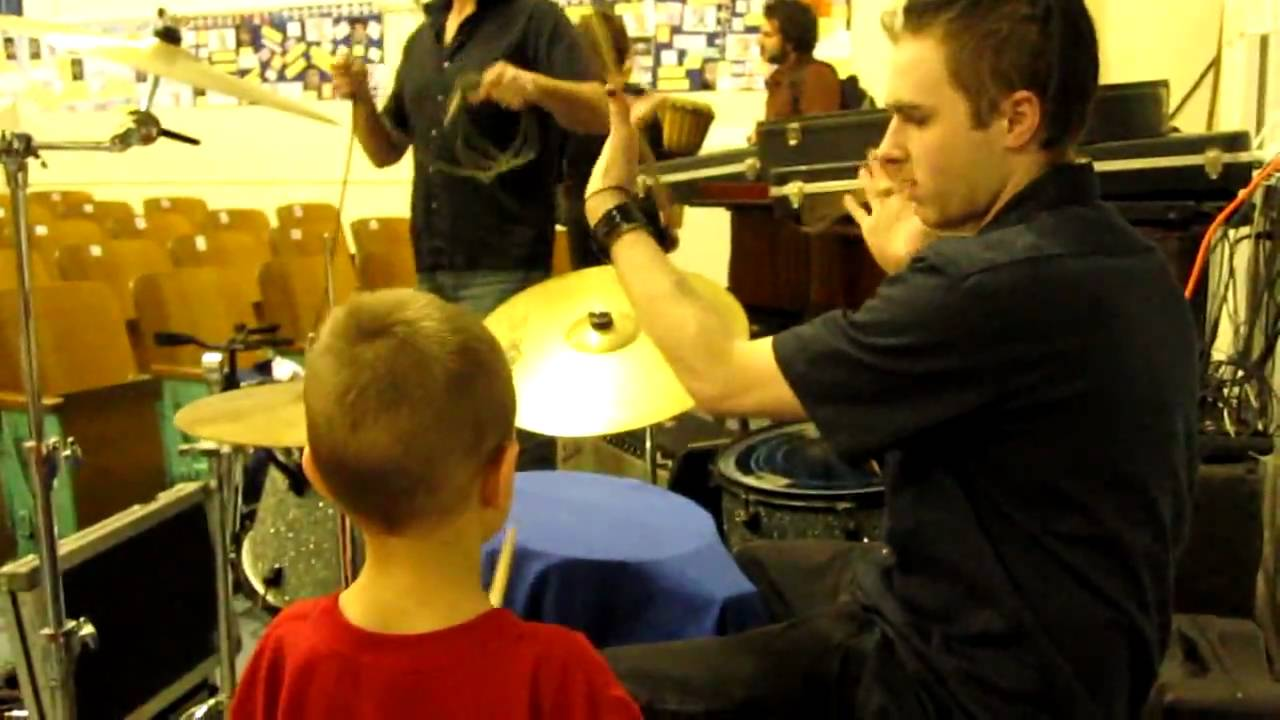 how to teach someone to play drums