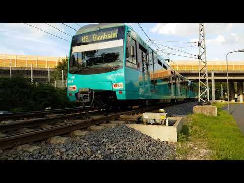 VGF U-Bahn Typ U4 und U5 in Frankfurt 1 Stunde 1/5