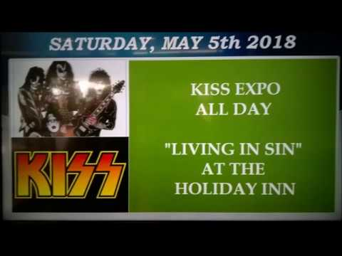 THE KISS KOLLECTOR   L I KISS AND ROCK & ROLL MUSIC EXPO 2018