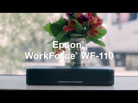 Epson WorkForce WF-110 Wireless Mobile Printer | Take a Tour