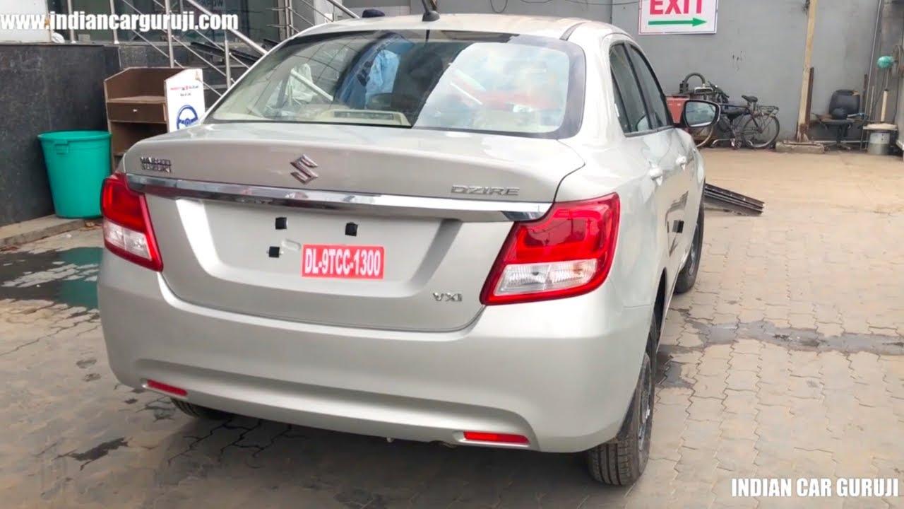 Maruti Dzire 2019 Vxi Model Price Features Interior And Exterior