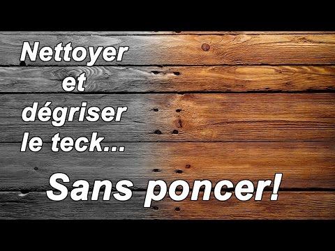 Merveilleux Entretien Du Teck : Nettoyage Des Fibres Et Raviver La Couleur Naturelle Du  Teck   YouTube