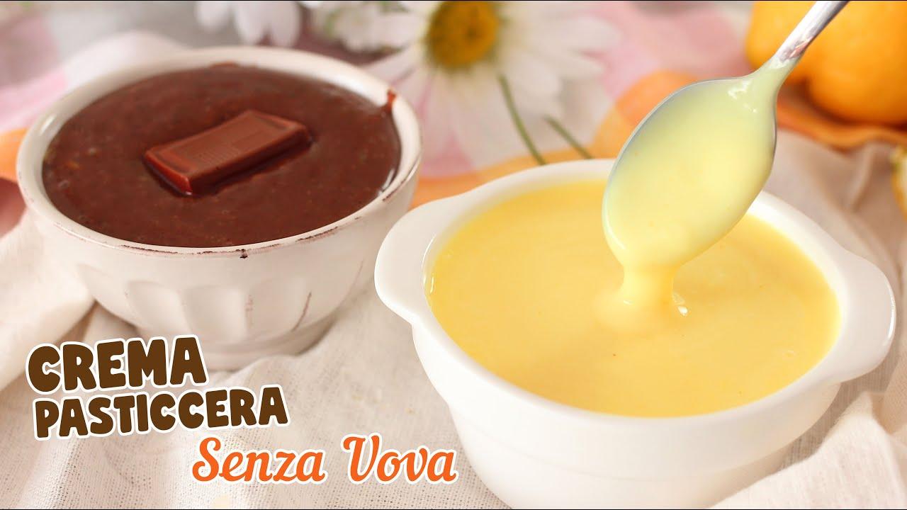 Youtube Ricetta Di Crema Pasticcera.Crema Pasticcera Senza Uova Classica E Al Cioccolato Ricetta Facile Crema Pasticcera Youtube