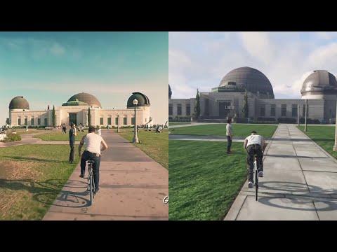 Real GTA vs Actual GTA side by side comparison by CJ