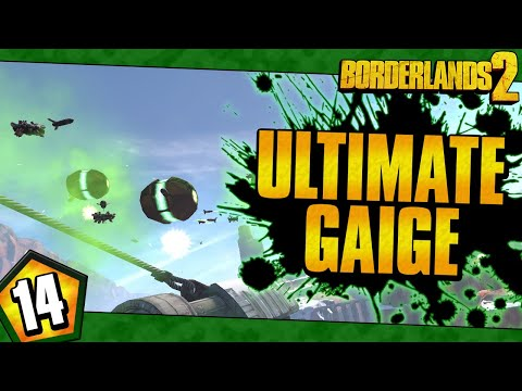 Borderlands 2 | Ultimate Gaige Funny Moments And Drops | Day #14 |