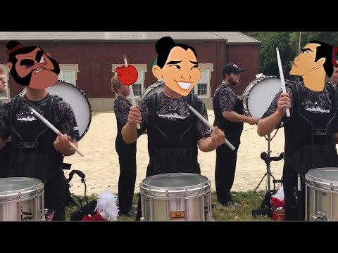 Jacksonville Drumline, But I'll Make A Man Out Of You (College 2016)