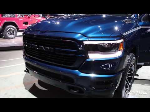 2019 RAM 1500 Close Up Look! 2018 NAIAS