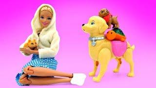Игры Барби. Новый питомец Барби - Мультики для девочек