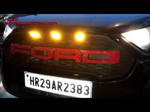 V Ford Ecosport Led Raptor Grill New Version By Mxsmotosport