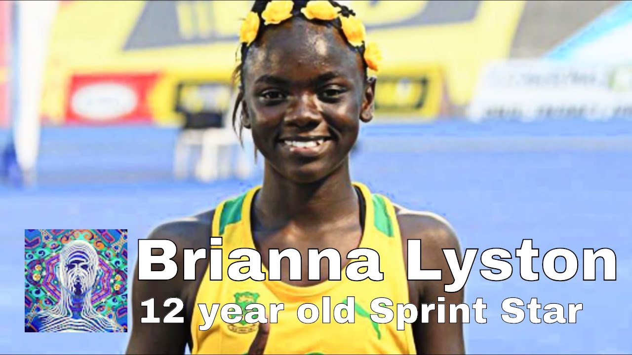 🇯🇲Brianna Lyston 🇯🇲12 year old sprint star🥇 100m and 🥇200m