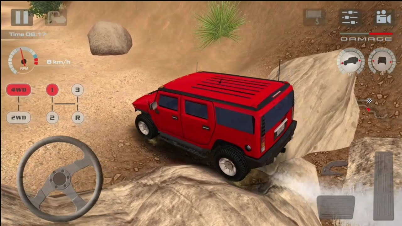 Offroad Drive Desert #5 Level 9 - Car Games - Gameplay Android IOS