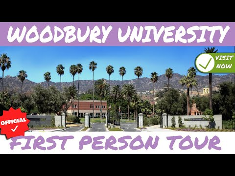 Woodbury University  Video Tour (New Footage)