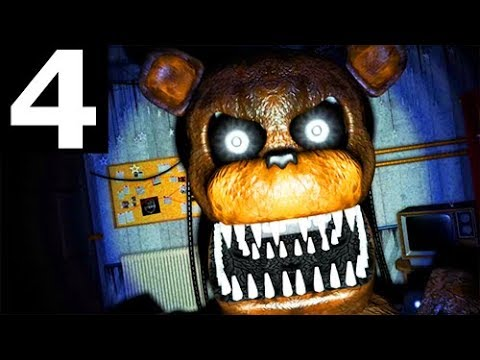 JOLLY 3: Chapter 2 - Night 4 - Walkthrough Gameplay Part 4 (No Commentary) (FNAF Horror Game 2018)