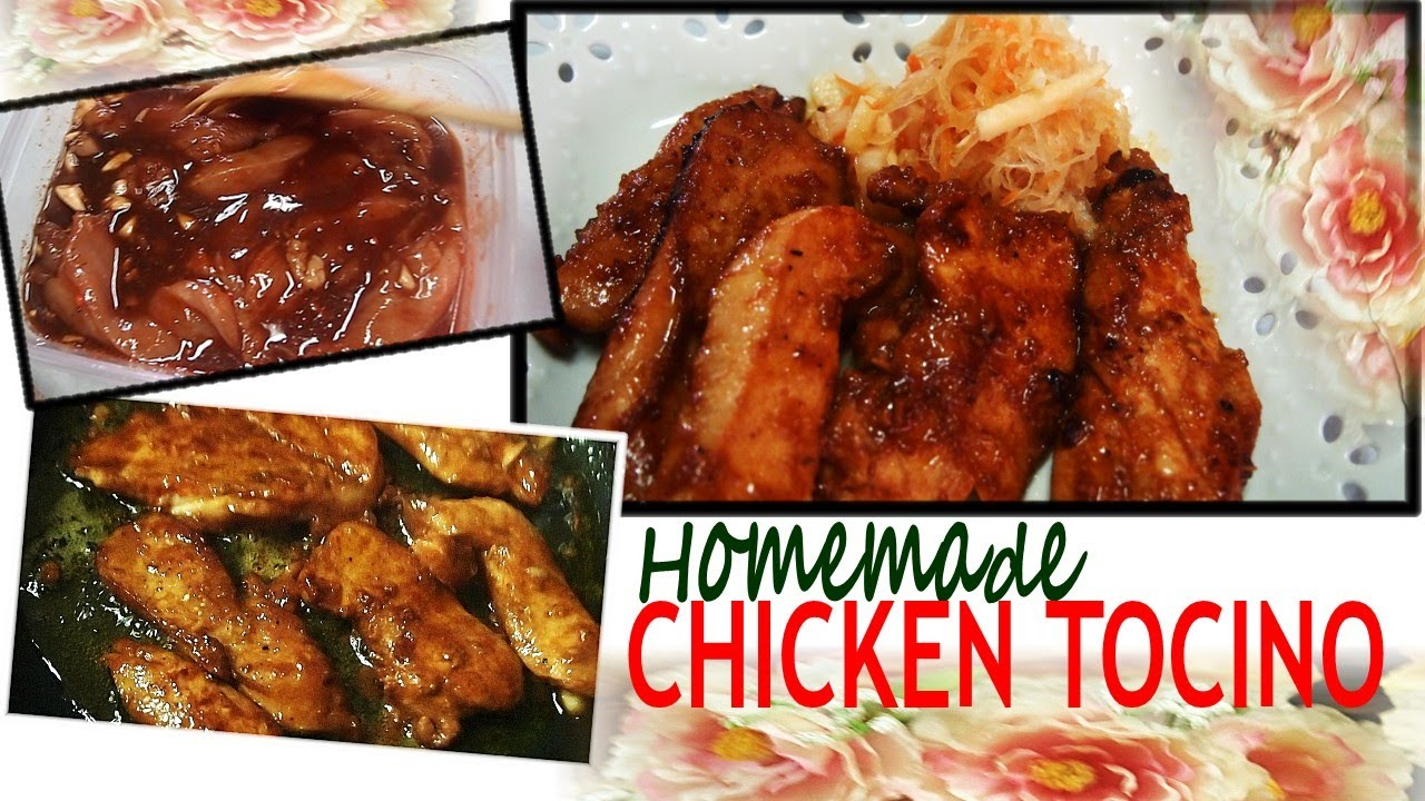 Recipe for chicken tocino