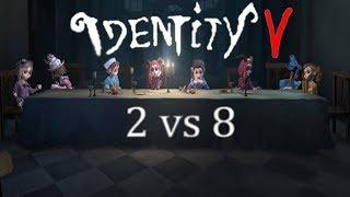 Identity V ( DBD na telefon ) z Yanginoku #10 - Tryb 2 vs 8 ( Proszę mną nie kręcić! )