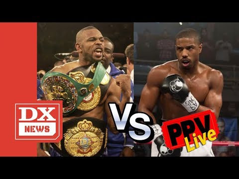 Roy Jones Jr. Says He's Ready & Willing To Fight Micheal B. Jordan