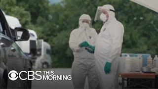 New coronavirus surges in Europe throw travelers into chaos