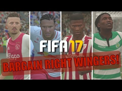 TOP 20 BARGAIN RIGHT WINGERS | FIFA 17 Career Mode