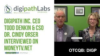 Gambar cover Digipath Inc. Ranked Top 10 by Insight Partners for Las Vegas Cannabis Lab Testing MoneyTV Interview