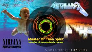Download Metallica ft. Nirvana - Master Of Puppets Smells Like Teen Spirit (zon mashup) MP3 song and Music Video