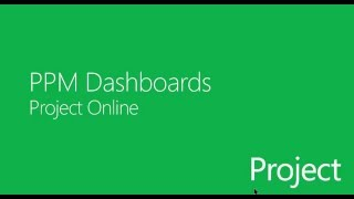 Project Online PPM Dashboard