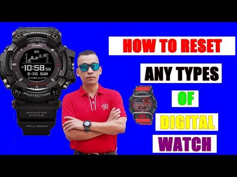   HOW TO SET TIME/DATE OF ANY TYPES OF DIGITAL WATCH   IN *NEPALI*