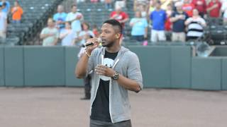 Download Kris Thomas Sings the National Anthem MP3 song and Music Video