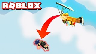 DROPPING BABIES WITH THE GLIDER IN ADOPT ME!