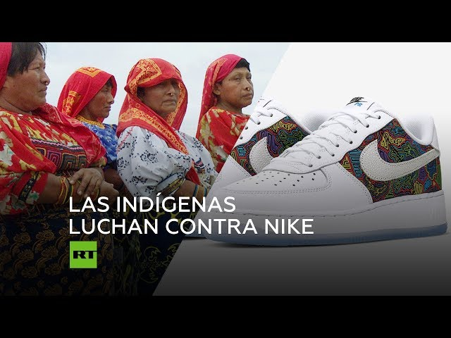 Para exponer Mediante marco  Nike cancela el lanzamiento de una colección de zapatillas tras ser  denunciado por indígenas panameños - RT