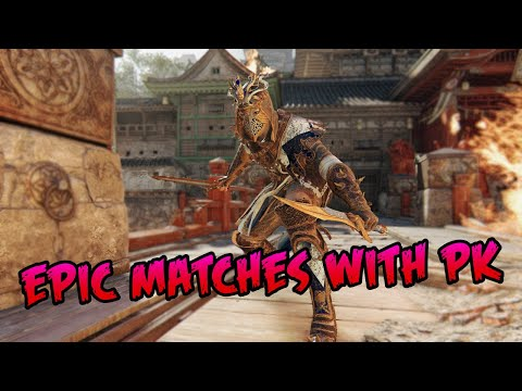 PEACEKEEPER ANTI-GANK & THE LONGEST 1v1 EVER! | For Honor |
