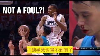 NBA裁判奇葩犯規不吹瞬間 林書豪被打出鼻血 騎勇大戰多次上榜